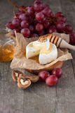 Baked Camembert cheese Stock Image
