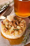 Baked Camembert with honey Royalty Free Stock Image