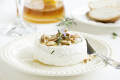 Baked camembert Royalty Free Stock Photos