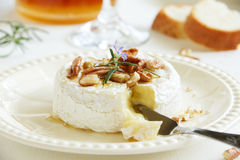 Baked camembert Stock Photography