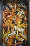 Baked carrots Stock Photos