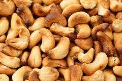 Baked cashew nuts Stock Photos
