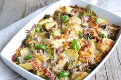 Baked casserole Stock Photos