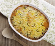 Baked Casserole Dish Stock Photography