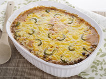 Baked Casserole Dish Royalty Free Stock Photography