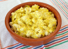 Baked Cauliflower Royalty Free Stock Photos
