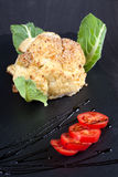 Baked Cauliflower Stock Photo