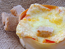 Baked cheese Royalty Free Stock Image