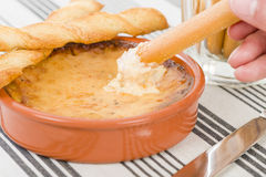 Baked Cheese royalty free stock photos