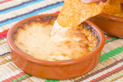 Baked Cheese stock photography