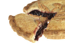 Baked Cherry Pie Royalty Free Stock Photography