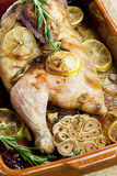 Baked chicken Stock Photography