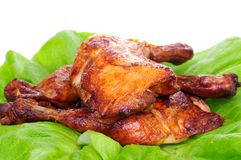 Baked chicken Royalty Free Stock Photography