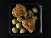 Baked chicken Stock Photos