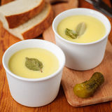 Baked Chicken Liver Pate Topped with Melted Butter Royalty Free Stock Photos