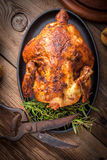 Baked chicken. Royalty Free Stock Photography