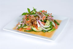 Baked chicken salad Stock Images