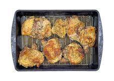 Baked Chicken Thighs Royalty Free Stock Image