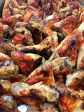 Baked Chicken wings Royalty Free Stock Photo