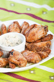 Baked chicken wings Stock Image