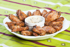 Baked chicken wings Stock Photography
