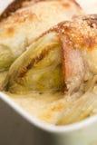 Baked chicory stock photo