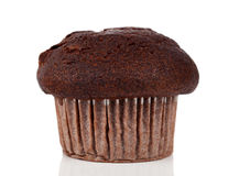Baked chocolate muffin Stock Photography
