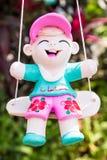 Baked clay dolls Stock Photo