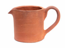 Baked clay jug Royalty Free Stock Photography