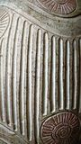 Baked Clay Pattern. Close-up of Baked Clay Pattern Royalty Free Stock Images