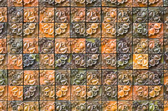 Baked clay tile Royalty Free Stock Photos