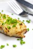 Baked cod Royalty Free Stock Photos