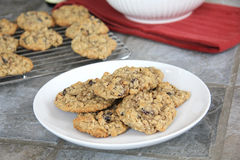 Baked Cookies Royalty Free Stock Photos