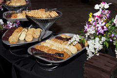 Baked Cookies Buffet Royalty Free Stock Image