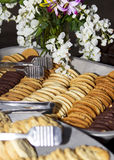 Baked Cookies Buffet Royalty Free Stock Images