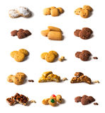 Baked cookies Royalty Free Stock Images