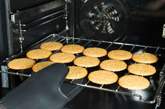 Baked Cookies Stock Photography