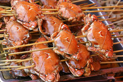 Baked crabs Royalty Free Stock Image