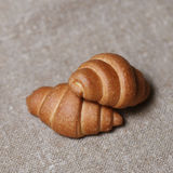 Baked Croissants Royalty Free Stock Photos