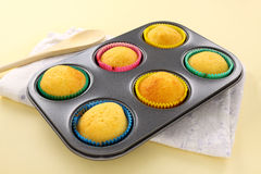 Baked Cup Cakes Stock Photo