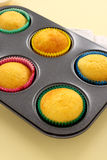 Baked Cup Cakes Stock Image