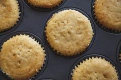 Baked cupcakes food photography recipe idea