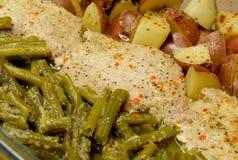 Baked Dinner Stock Image
