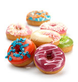 Baked donuts Stock Photo