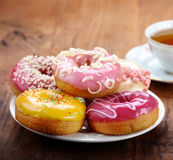 Baked donuts Royalty Free Stock Photography