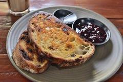 Dough toast stock images
