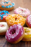 Baked doughnuts Royalty Free Stock Photos
