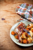 Baked duck Royalty Free Stock Photos
