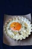 Baked egg Royalty Free Stock Photos