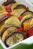 Baked eggplant Royalty Free Stock Image